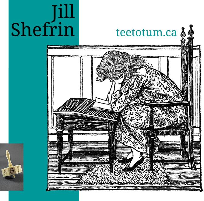 Jill Shefrin - teetotum.ca
